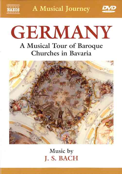 BACH:GERMANY MUSICAL TOUR OF BAROQUE BY RUBSAM,WOLFGANG (DVD)