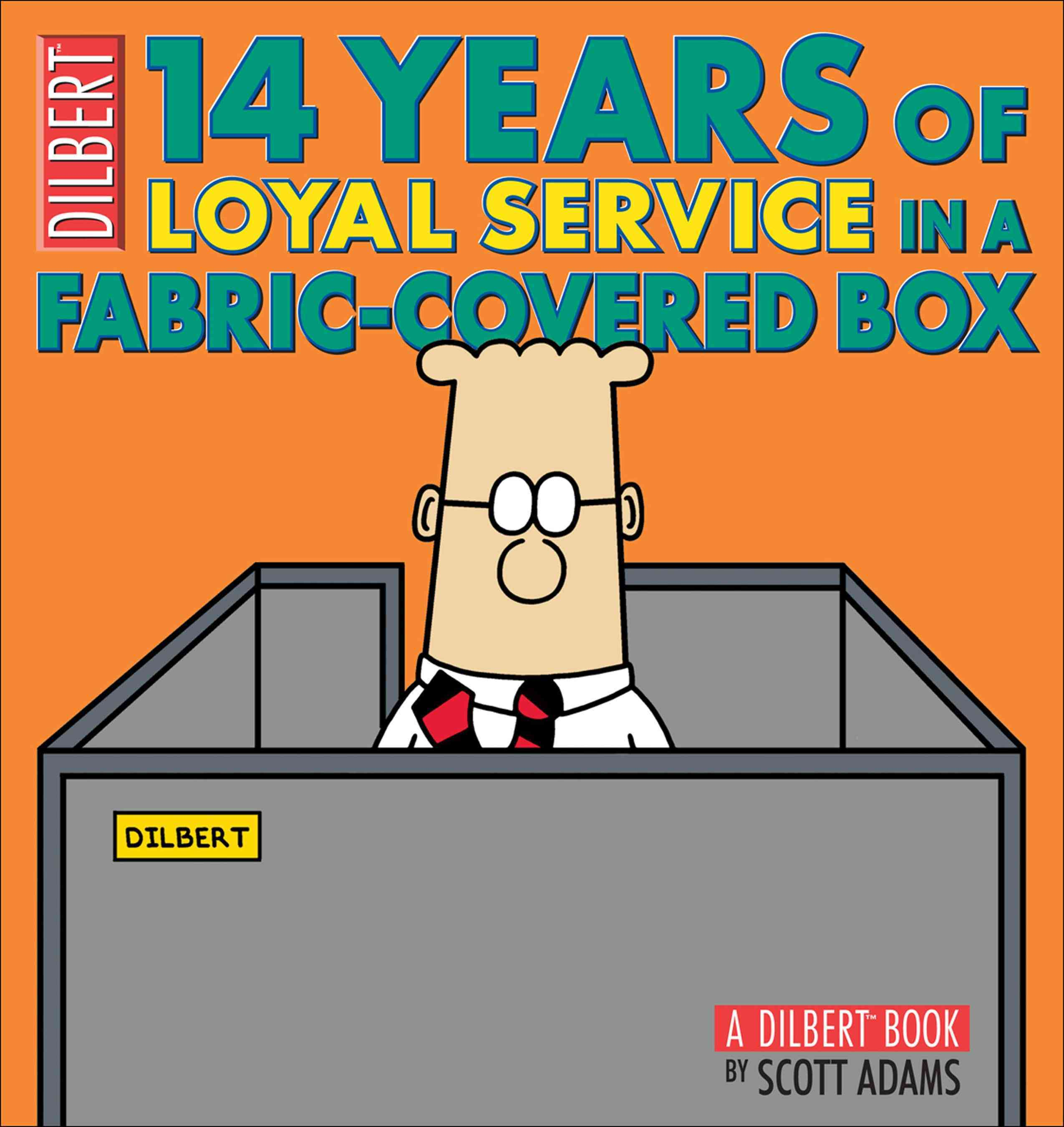 14 Years of Loyal Service in a Fabric-Covered Box By Adams, Scott